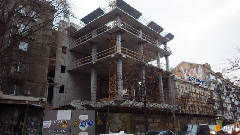 Хід будівництва Franklin Concept House, Будинок, квітень 2021