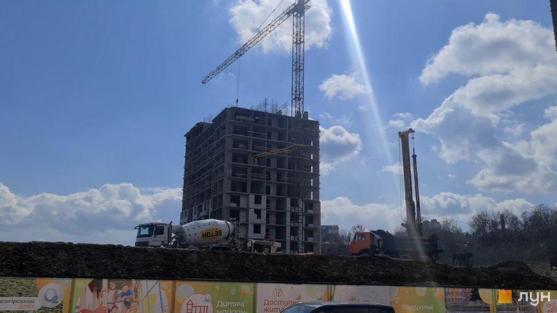 Хід будівництва ЖК Orange City, 3 будинок, квітень 2021