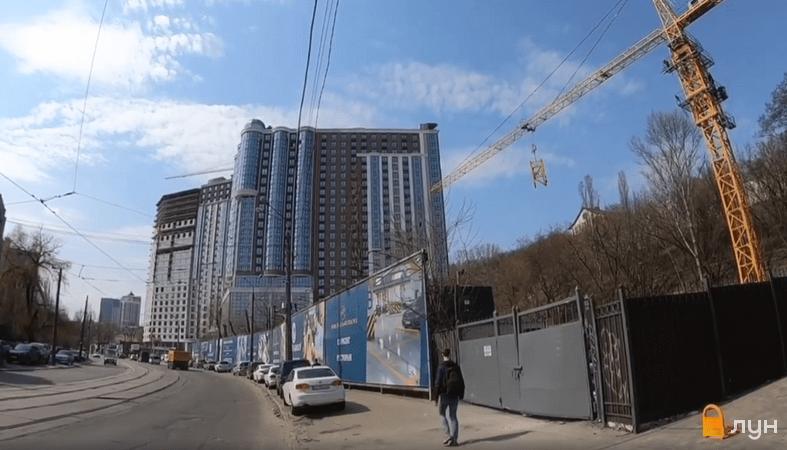 Хід будівництва ЖК Podil Plaza & Residence, 1 будинок (секції 1-3), квітень 2021