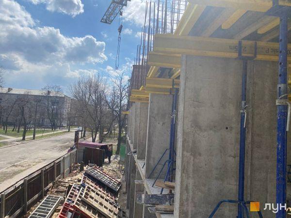 Хід будівництва ЖК Квітень, Будинок, квітень 2021