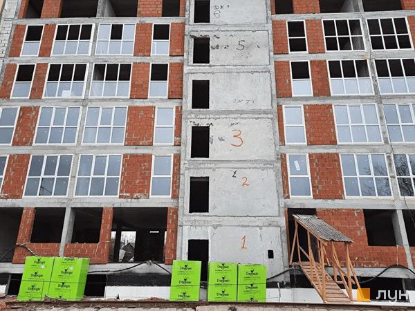 Хід будівництва ЖК Гостомель Сіті, 1 будинок, квітень 2021