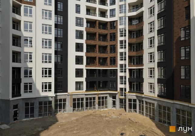 Ход строительства ЖК Синергия Сити, 1 дом, апрель 2021