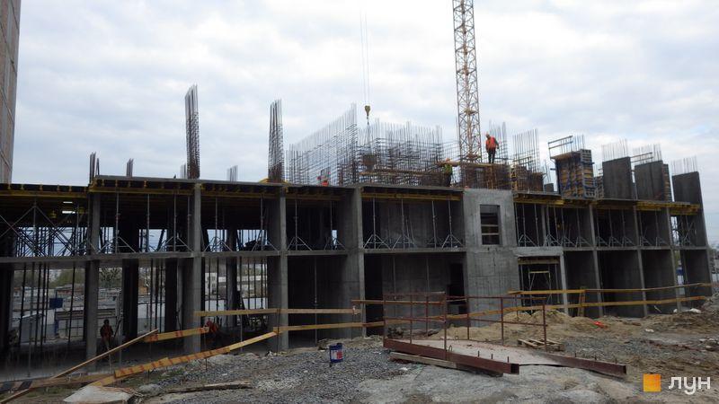 Хід будівництва ЖК POLARIS Home&Plaza, 2 будинок (секція 3.2), квітень 2021