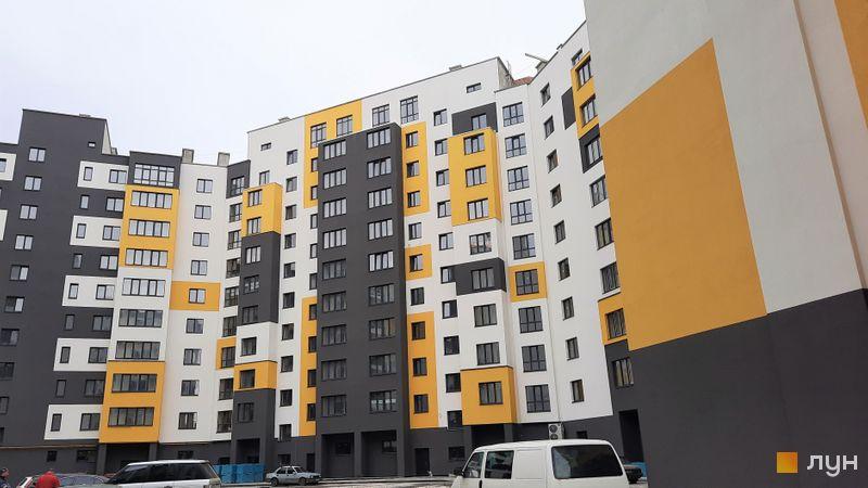 Ход строительства ЖК Солнечный, 3, 4 дом, апрель 2021