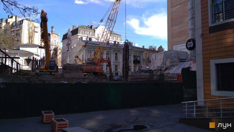 Хід будівництва ЖК Krauss Gallery, , квітень 2021