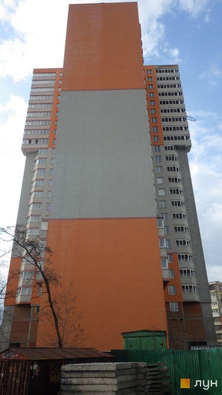 Хід будівництва вул. Каунаська, 2а, Будинок, квітень 2021
