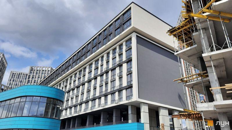Хід будівництва ЖК Славутич 2.0, 3 будинок, квітень 2021
