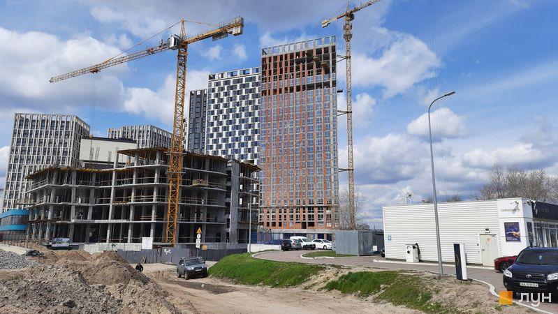 Хід будівництва ЖК Славутич 2.0, 7 будинок, квітень 2021