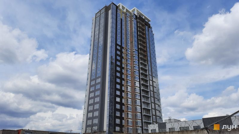 Ход строительства ЖК RiverStone, 9 дом, апрель 2021