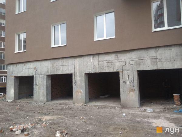 Хід будівництва ЖК Срібні Озера Комфорт, 7 будинок (секція 1), квітень 2021