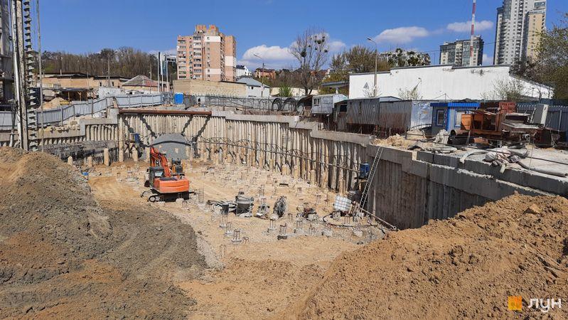 Ход строительства ЖК Delrey, , апрель 2021