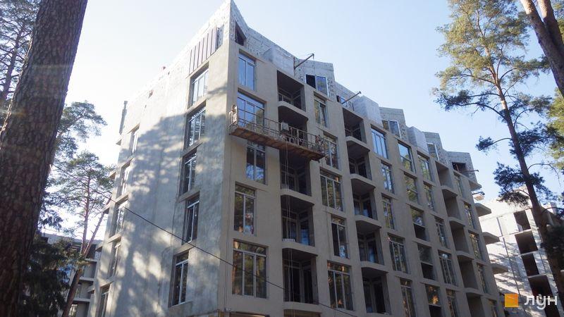 Ход строительства ЖК O2 Residence, 1 дом, апрель 2021