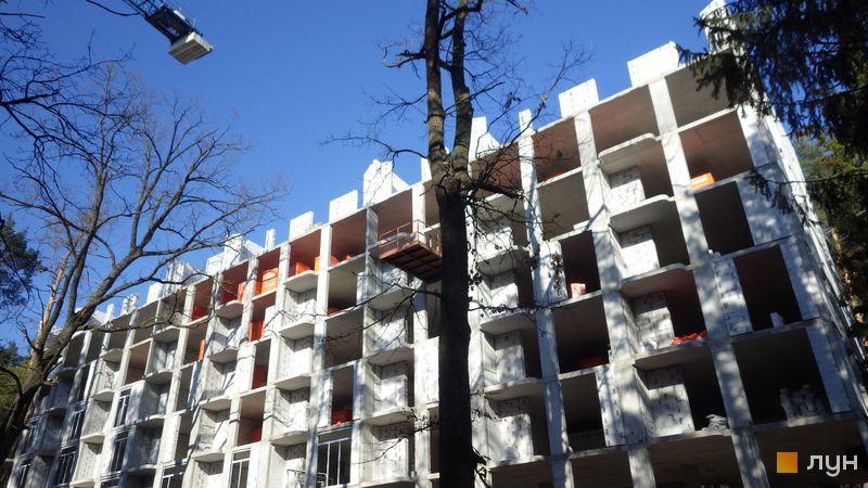Ход строительства ЖК O2 Residence, 2 дом, апрель 2021