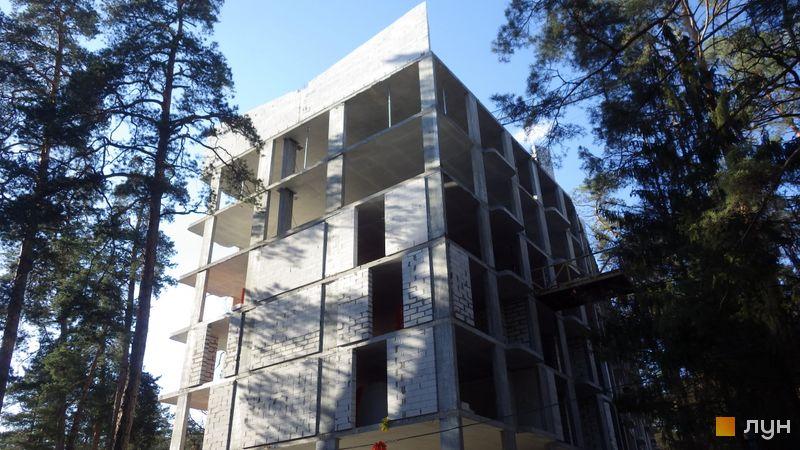Ход строительства ЖК O2 Residence, 4 дом, апрель 2021