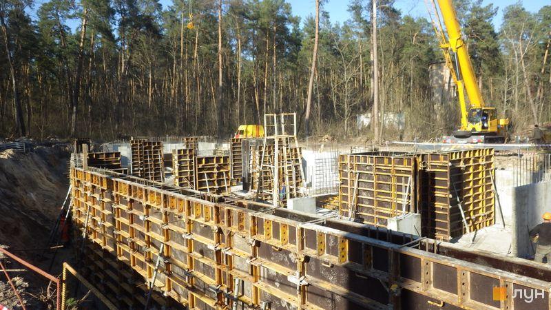 Ход строительства ЖК O2 Residence, 10 дом, апрель 2021