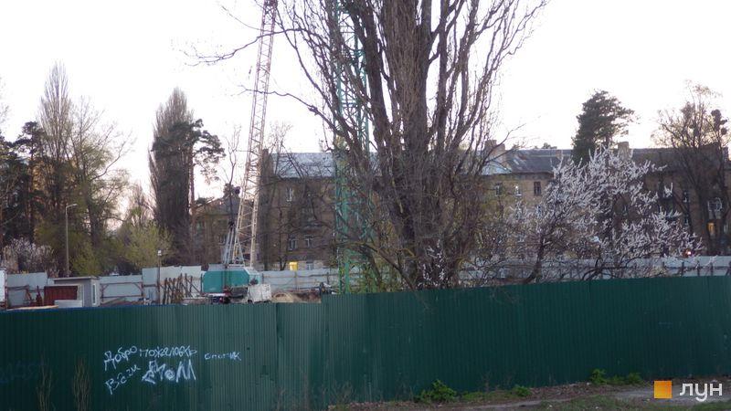 Хід будівництва ЖК Оберіг-2, 3 будинок, квітень 2021