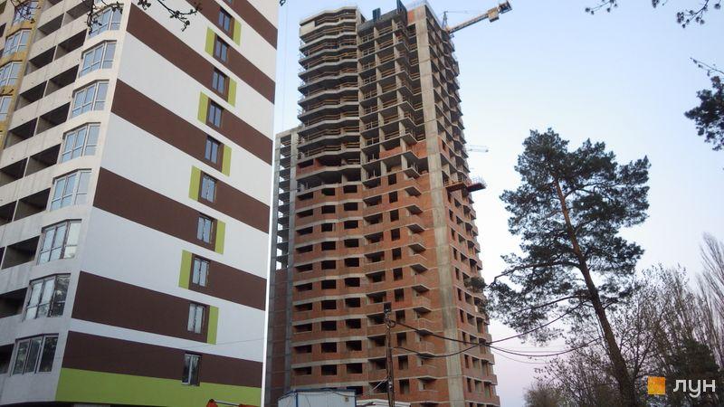 Хід будівництва ЖК Оберіг-2, 2 будинок, квітень 2021