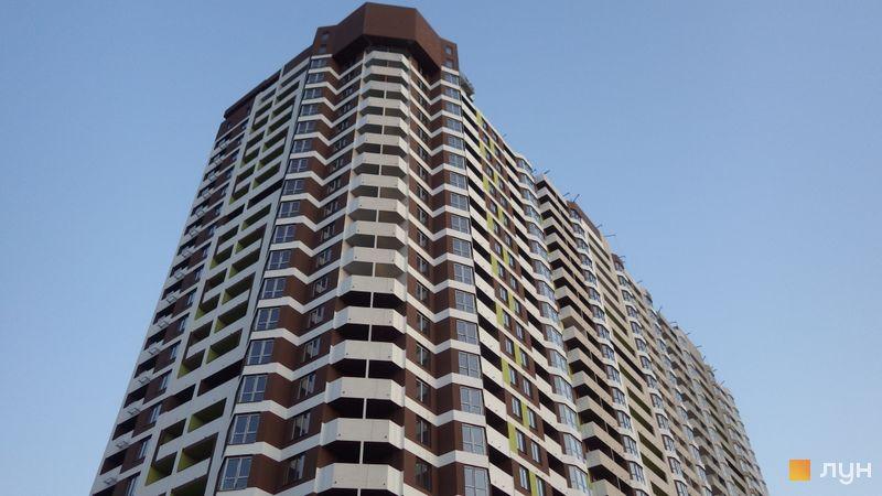 Хід будівництва ЖК Оберіг-2, 1 будинок, квітень 2021