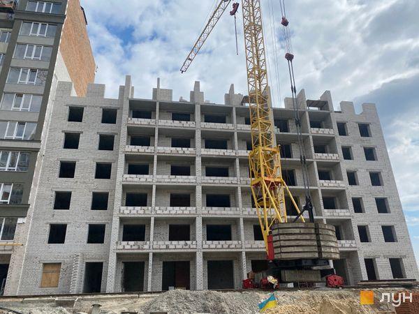 Ход строительства ЖК Millennium State, 4 дом (секция 4А), апрель 2021