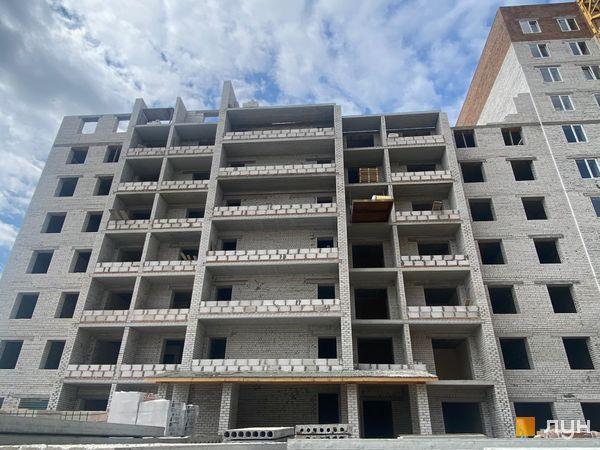 Ход строительства ЖК Millennium State, 4 дом (секция 4Г), апрель 2021