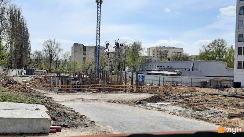 Хід будівництва ЖК Голосіївський, 1 будинок, квітень 2021