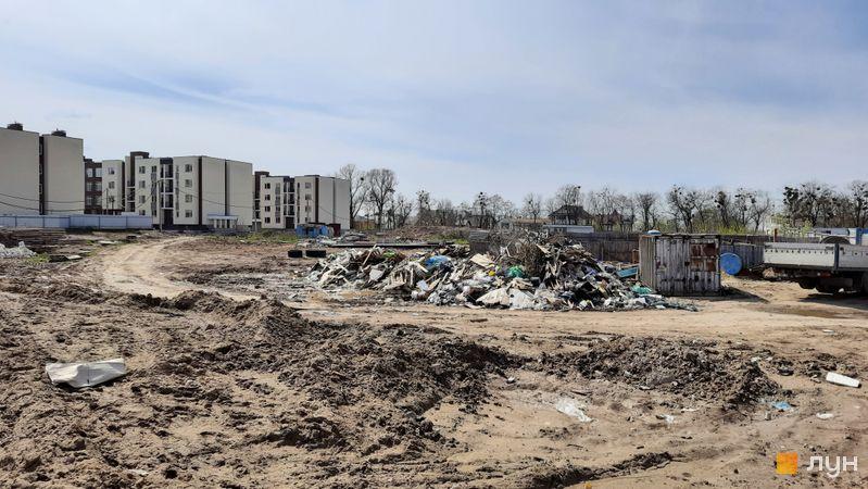 Ход строительства ЖК PARKLAND, , апрель 2021