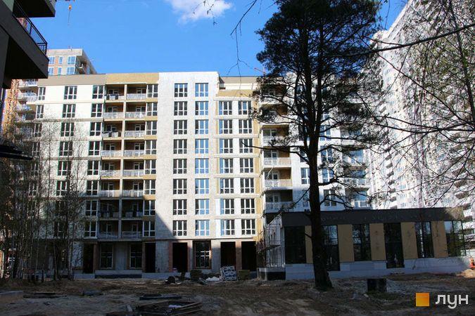 Хід будівництва ЖК Krona Park II, 1.2 будинок, квітень 2021