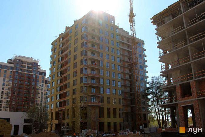 Хід будівництва ЖК Krona Park II, 2.1 будинок, квітень 2021