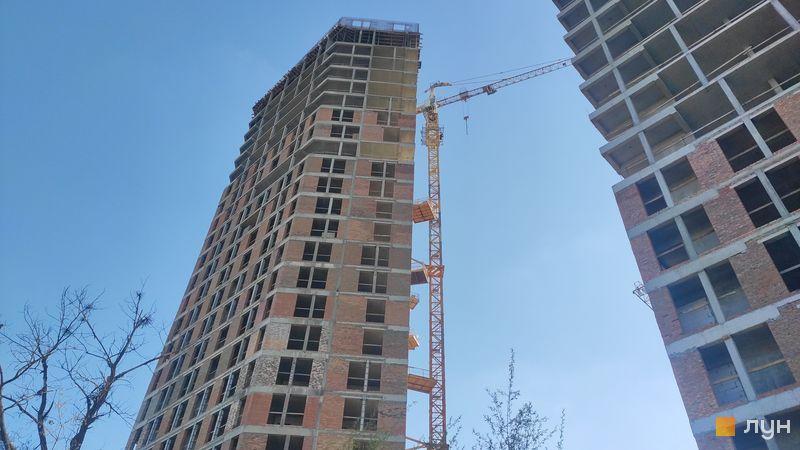 Ход строительства ЖК Madison Gardens, 2 дом, апрель 2021