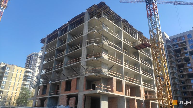 Хід будівництва ЖК Krona Park II, 7 будинок, квітень 2021