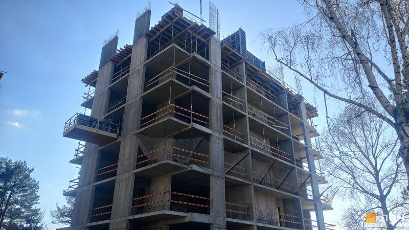 Хід будівництва ЖК Krona Park II, 6 будинок, квітень 2021