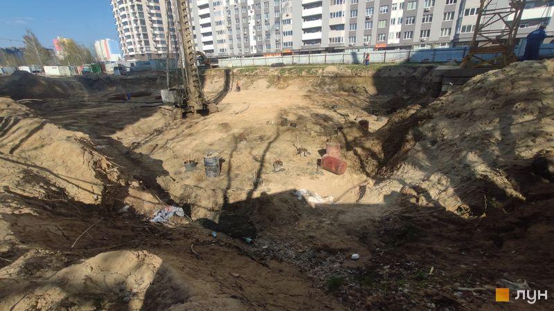 Хід будівництва ЖК Krona Park II, 3 будинок, квітень 2021