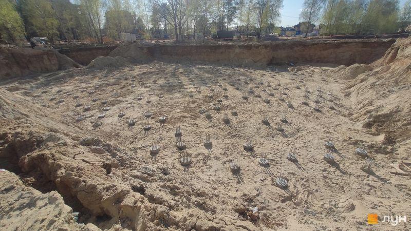 Хід будівництва ЖК Krona Park II, 4 будинок, квітень 2021