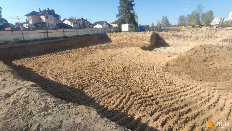 Хід будівництва ЖК Krona Park II, 8 будинок, квітень 2021