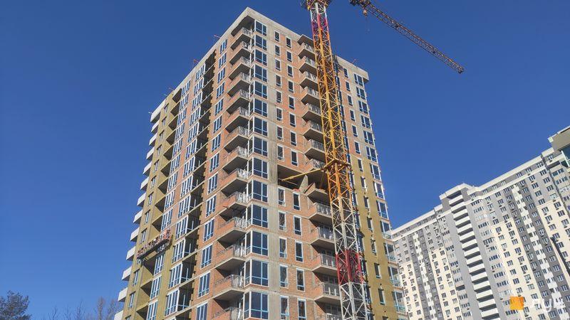 Хід будівництва ЖК Krona Park II, 3.2 будинок, квітень 2021