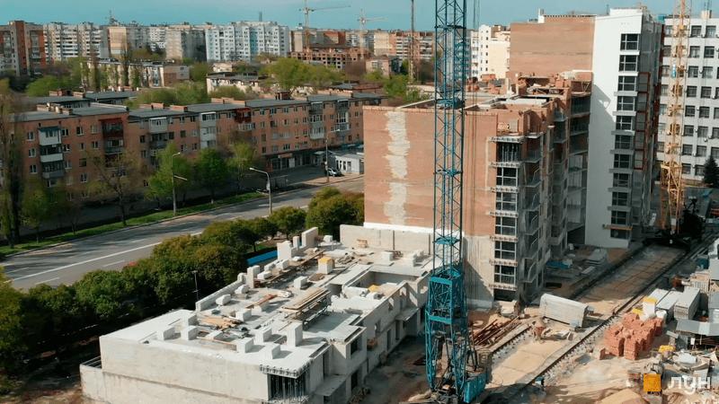 Хід будівництва ЖК Європейський, 1-3 секції, травень 2021