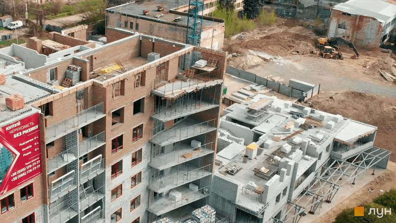 Хід будівництва ЖК Європейський, 2-3 секції, травень 2021