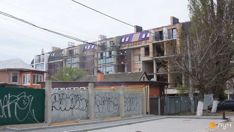 Хід будівництва ЖК Comfort Hall, Будинок, травень 2021