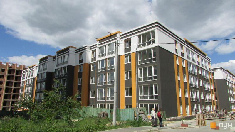 Ход строительства ЖК Фортуна-2, ул. Джерельная, 8, июнь 2016