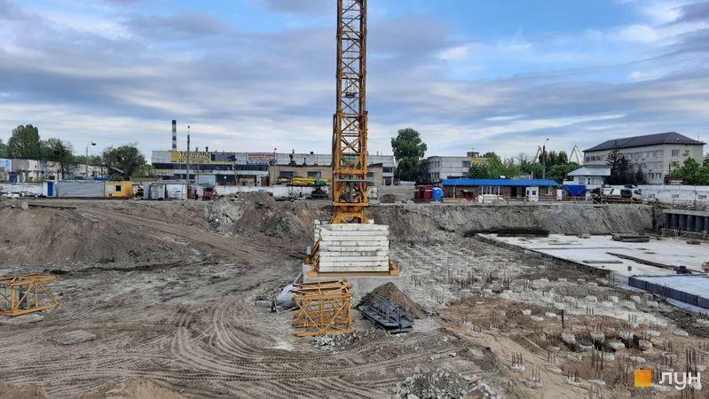 Ход строительства BOSTON Creative House, , май 2021