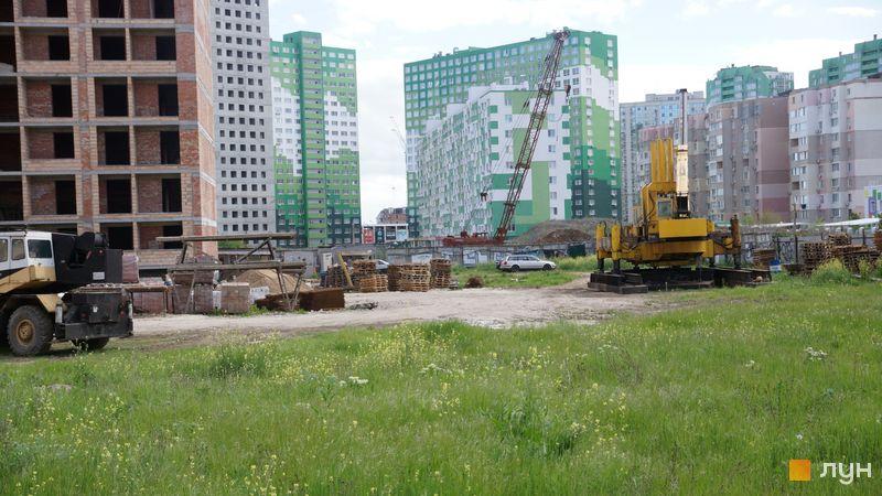 Ход строительства ЖК Sea Town, 2 дом, май 2021