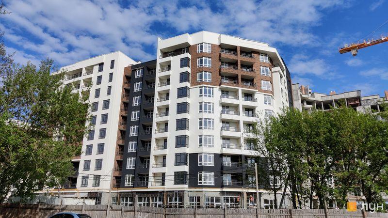 Ход строительства ЖК Синергия Сити, 1 дом, май 2021