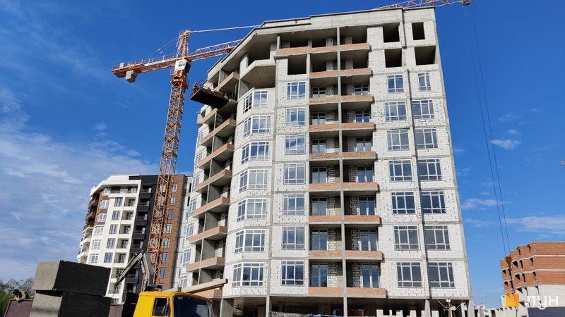 Ход строительства ЖК Синергия Сити, 2 дом, май 2021