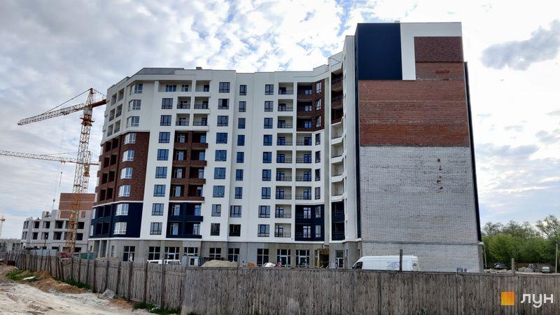 Ход строительства ЖК Синергия Сити, 3 дом (секция 2), май 2021