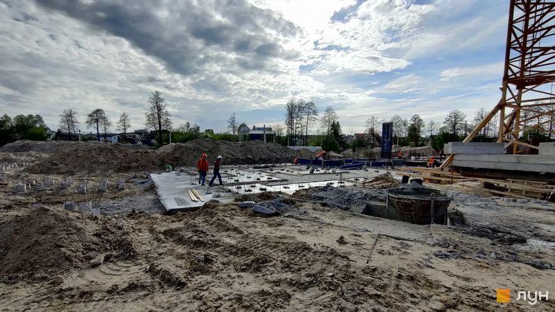 Ход строительства ЖК Синергия Сити, 7-8 дома, май 2021