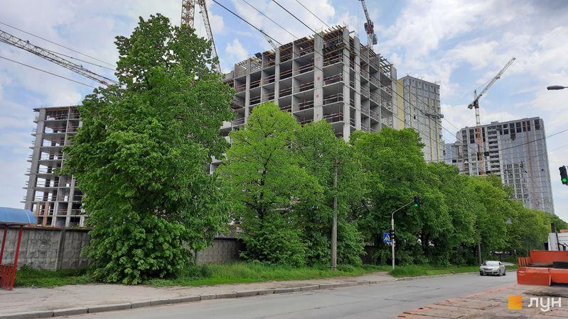 Хід будівництва ЖК Dibrova Park, 5 будинок, травень 2021