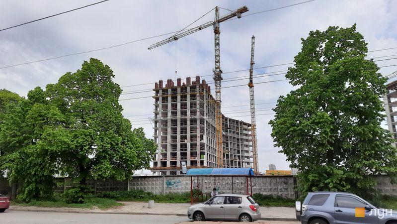Хід будівництва ЖК Dibrova Park, 6 будинок, травень 2021