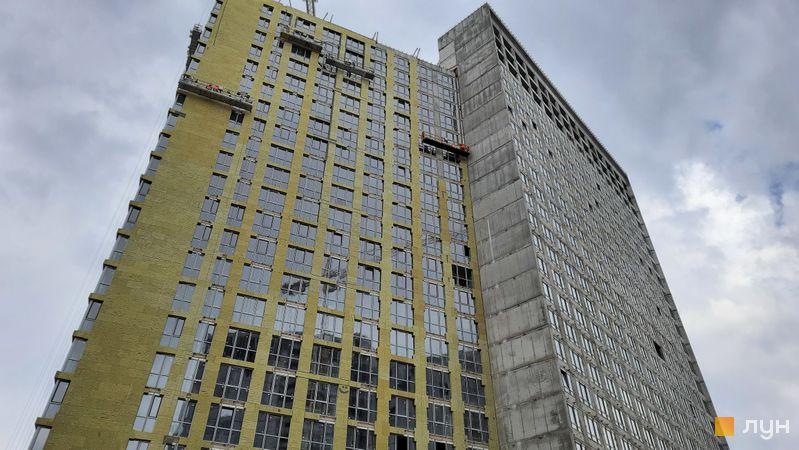 Хід будівництва ЖК Dibrova Park, 4 будинок, травень 2021