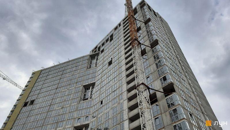 Хід будівництва ЖК Dibrova Park, 1 будинок, травень 2021
