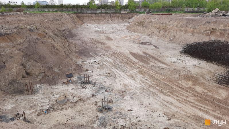 Хід будівництва ЖК Dibrova Park, 9 будинок, травень 2021